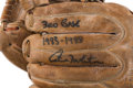 Baseball Collectibles:Others, Circa 1983 Paul Molitor Game Used Fielder's Glove. ...