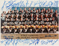 Football Collectibles:Photos, 1966 Green Bay Packers Team Signed Super Bowl I OversizedPhotograph. ...
