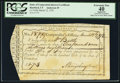Colonial Notes:Connecticut, State of Connecticut Interest Certificate Mar. 12, 1792 1 Pound 7Shillings 8 Pence PCGS Apparent Extremely Fine 40, CC.. ...