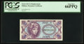 Military Payment Certificates:Series 641, Series 641 5¢ Replacement PCGS Gem New 66PPQ.. ...