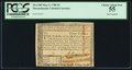 Colonial Notes:Massachusetts, Massachusetts May 5, 1780 $3 Pen Cancel PCGS Choice About New 55.....