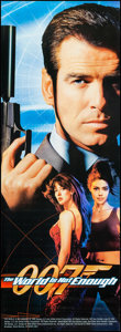 """Movie Posters:James Bond, The World is Not Enough (MGM, 1999). Door Panel (26"""" X 72"""") Bond Style. James Bond.. ..."""