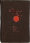 Books:Science Fiction & Fantasy, Edgar Rice Burroughs. A Princess of Mars. Chicago: A.C.McClurg, 1917....