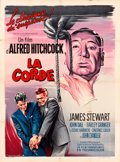 """Movie Posters:Hitchcock, Rope (MGM, R-1963). French Grande (47"""" X 63"""").. ..."""