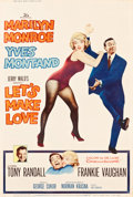 """Movie Posters:Comedy, Let's Make Love (20th Century Fox, 1960). MP Graded Poster (40"""" X60"""") Style Y.. ..."""
