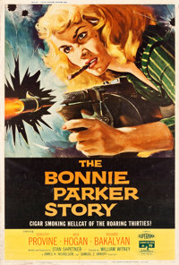 "The Bonnie Parker Story (American International, 1958). MP Graded Poster (40"" X 60"")"