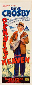 "Movie Posters:Musical, Pennies from Heaven (Columbia, 1936). Australian Pre-War Daybill(15"" X 39.5""). Musical.. ..."