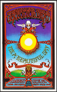 The Grateful Dead and It's a Beautiful Day at Honolulu Internal Center (Rick Griffin, 1982). Second Printing Concert Pos...