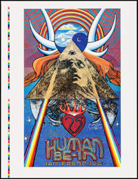"25th Anniversary Human Be-In by Stanley Mouse (1991). Signed Printer's Proof Poster (19.75""' X 25.75""). Rock a..."