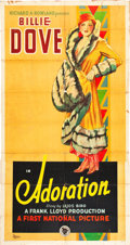 "Movie Posters:Romance, Adoration (First National, 1928). Three Sheet (40.5"" X 77.5"").. ..."