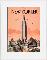 "King Kong Call by Bruce McCall (1995). Autographed Limited Edition Print (22"" X 28""). Miscellaneous"