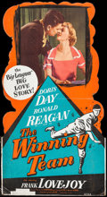 """Movie Posters:Sports, The Winning Team (Warner Brothers, 1952). Standee (32.5"""" X 59.5""""). Sports.. ..."""