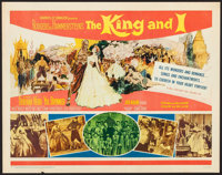 "The King and I (20th Century Fox, R-1961). Half Sheet (22"" X 28""). Musical"