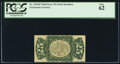 Fractional Currency:Third Issue, Fr. 1294SP 25¢ Third Issue Narrow Margin Back PCGS New 62.. ...