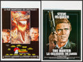 "Movie Posters:Action, The Towering Inferno & Others Lot (20th Century Fox, 1974).Belgian Posters (2) (14"" X 21.25"" & 14.5"" X 21.75"") and FrenchP... (Total: 3 Items)"