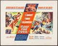 "Movie Posters:Adventure, Beat the Devil (United Artists, 1953). Half Sheet (22"" X 28"") StyleA. Adventure.. ..."