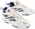 Basketball Collectibles:Others, Kenny Anderson Signed Shoes....