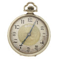Timepieces:Pocket (post 1900), Illinois 23 Jewel Open Face Pocket Watch. ...