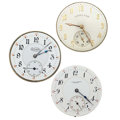 Timepieces:Other , Rare Illinois Interstate Chronometer, Hamilton & D. Gavor &Sons Movements. ... (Total: 3 Items)