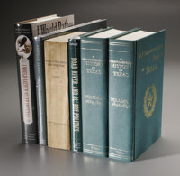 Complete Collection of TSHA books. The Texas State Historical Association published its first book in 1917. Since then i...