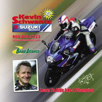 Kevin Schwantz Suzuki School: Two days and one night for one to a two-day motorcycle training seminar in Brazelton, Geor...