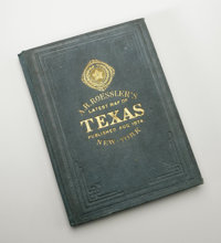 , Anton R. Roessler. A. R. Roessler's Latest Map of the State of Texas...New York: Edw. Welcke, 1874. 96.2 x 106.2 cm. C...