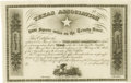 Antiques:Posters & Prints, [Mercer Colony]. Texas Association 8,000 Square Miles on theTrinity River… Louisville: Hart, Mapother & Co., 1844.Lithogra...