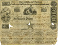 Political:Small Paper (pre-1896), Republic Of Texas Certificate Of Stock in the ten percent consolidated fund. Courtesy of Simpson Galleries, Houston. Con...
