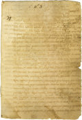 Political:Miscellaneous Political, Mamulique August 25, 1774 Power of Attorney given mutually by MariaMichaela de Andrade y Cavallero of Queretaro, and Raphae...