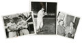 Baseball Collectibles:Photos, 1940s Stan Musial Service Photographs Lot of 3. Brilliant trio of 1940s photos focuses on the St. Louis Cardinal legend Sta...