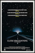 "Movie Posters:Science Fiction, Close Encounters of the Third Kind (Columbia, 1977). One Sheet (27""X 41""). Science Fiction. ..."