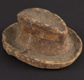 Miscellaneous:Other, Man's Hat Macerated Currency.. ...