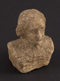 Miscellaneous:Other, Bust of Washington Macerated Currency. . ...