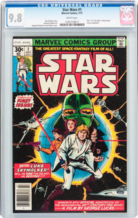 Star Wars #1 (Marvel, 1977) CGC NM/MT 9.8 White pages