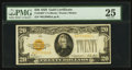 Small Size:Gold Certificates, Fr. 2402* $20 1928 Gold Certificate. PMG Very Fine 25.. ...