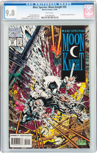 Marc Spector: Moon Knight #55 (Marvel, 1993) CGC NM/MT 9.8 White pages