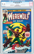 Bronze Age (1970-1979):Horror, Werewolf by Night #38 (Marvel, 1976) CGC NM+ 9.6 White pages....