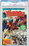 Bronze Age (1970-1979):Horror, Werewolf by Night #37 (Marvel, 1976) CGC NM+ 9.6 White pages....