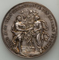 German States:Augsburg, German States: Augsburg. Free City silver Medal 1718 AU -Hairlines,...