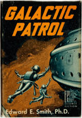 Books:Science Fiction & Fantasy, Edward E[lmer] Smith. Galactic Patrol. Reading, Pennsylvania: Fantasy Press, 1950....
