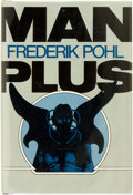 Books:Science Fiction & Fantasy, Frederik Pohl. SIGNED. Man Plus. New York: Random House, [1976]. ...
