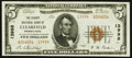 National Bank Notes:Pennsylvania, Clearfield, PA - $5 1929 Ty. 2 The County NB Ch. # 13998. ...