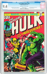The Incredible Hulk #181 (Marvel, 1974) CGC NM 9.4 Off-white to white pages