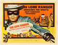 """Movie Posters:Western, The Lone Ranger and the Lost City of Gold (United Artists, 1958). Half Sheet (22"""" X 28"""") Style A.. ..."""
