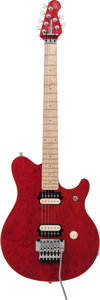 Musical Instruments:Electric Guitars, 1994 Music Man Edward Van Halen Red Solid Body Electric Guitar,Serial # 85522....