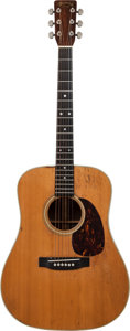 Musical Instruments:Acoustic Guitars, 1967 Martin D-28 Natural Acoustic Guitar, Serial # 228182....