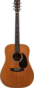 Musical Instruments:Acoustic Guitars, 1954 Martin D-28 Natural Acoustic Guitar, Serial # 141203....