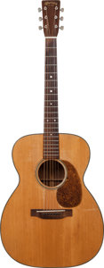 Musical Instruments:Acoustic Guitars, 1946 Martin 000-18 Natural Acoustic Guitar, Serial # 97939....