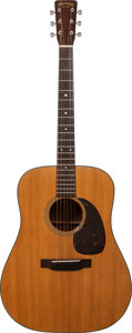 Musical Instruments:Acoustic Guitars, 1955 Martin D-18 Natural Acoustic Guitar, Serial # 142994....