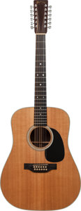 Musical Instruments:Acoustic Guitars, 1979 Martin D-12-28 Natural Acoustic Guitar, Serial # 415603....